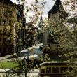 Skats uz Pulvertorni, 1950.gadu otrā puse