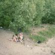 Jaunie mīlnieki Volgas upes krastā, Astrahaņa