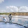 Atpūtnieki uz kruīza kuģa Afanasijs Ņikitins, Volgas upe