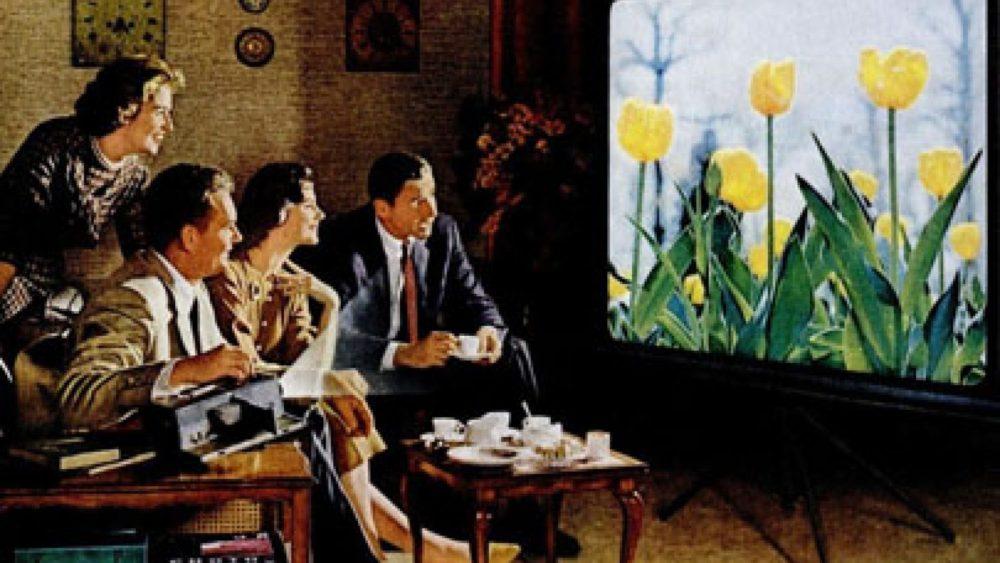 Kodak diapozitīvu reklāma, 1960