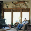 Gerijs Strobls, lauvu mednieks. Zaga rančo, Springkrīka, Nevada, 2008
