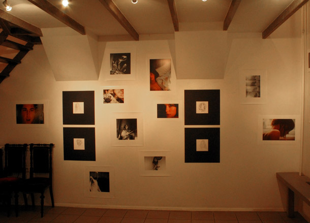 A.Zapoļa izstāde Carousell galerijā. Foto - Arnis Balčus