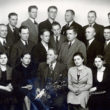 Fotogrāfu kursu beidzēji. 1930. gadu beigas. Foto no Latvijas Fotogrāfijas muzeja krājuma