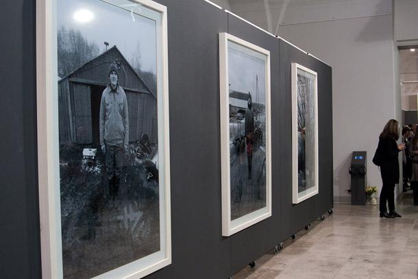 K.Podnieka ekspozīcija. Foto - P.R.A.E.