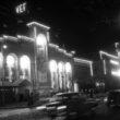 Iluminācija pie VEF. 1959. gada 1. maijs. Foto - Dominiks Gedzjuns