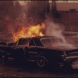 Deivids Falkoners (Falconer, David), Paraugdemonstrējumi pie ugunsdzēsēju mācību stacijas (01/1974)