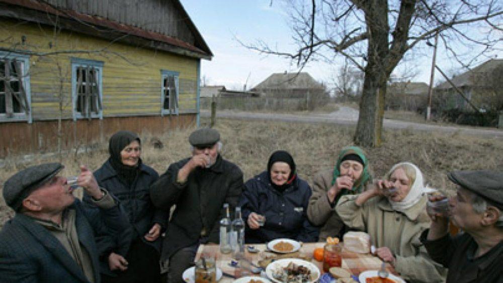 Viktors Dračevs, Labās Vēsts Pasludināšanas svētki Tulgoviči ciematā