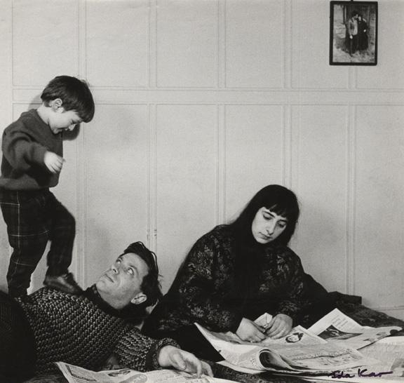Ida Kara. Braiens Kops ar ģimeni, 1960