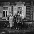 Uģis Niedre. Ģimenes portrets. No kreisās: Taņa Rozenberga, Lidija Ziemele, Kārlis Ziemelis, Jeļena Rozenberga, Valdis Ziemelis. 1982. g. 16. sept.