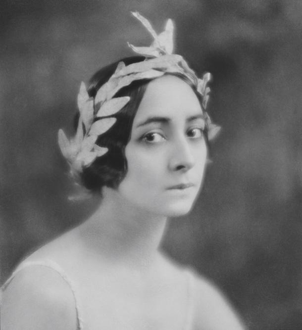E. O. Hopē. Olga Spesivtseva Auroras lomā, 1921