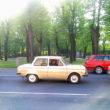 Zaporožeci ceļā uz Motormuzeju. Foto - Agnese Tauriņa