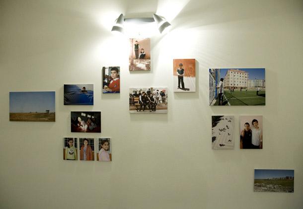 Skats uz Aijas Kroderes darbiem. Foto - Elīna Ruka