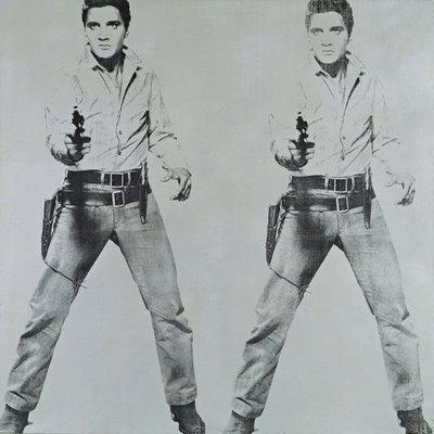 Endijs Vorhols. Dubultais Elviss, 1963