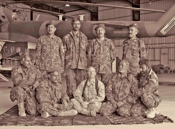 Saimons Norfolks. Afgāņu gaisa spēku līderi ar ASV jūras flotes majoru Džeisonu Čērču