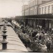 Liepājas dzelzceļa stacija, [192-] (Oriģināla glabātājs- Latvijas Nacionālā bibliotēka)