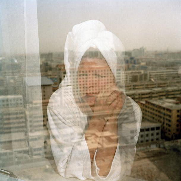 Nina Korhonena. Pie loga, Ķīna, 2004