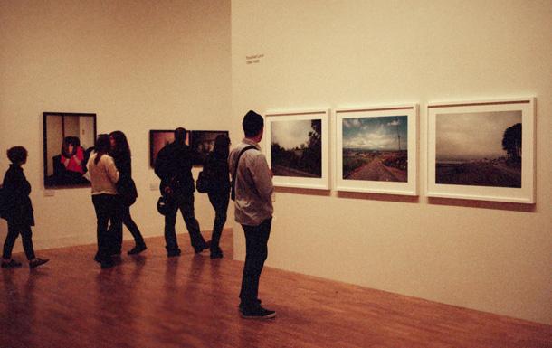 Pola Greiema ekspozīcija Whitechapel. Foto - Arnis Balčus