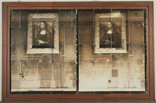 Dags un Maiks Sterni. Dubultā Mona Lisa ar pašportretu, 1985-88