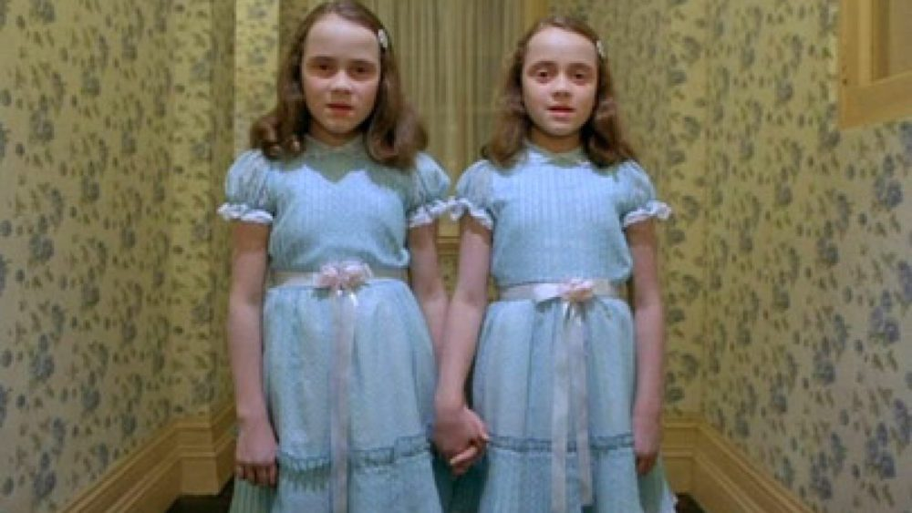 "Kadrs no S.Kubrika filmas ""The Shining"""