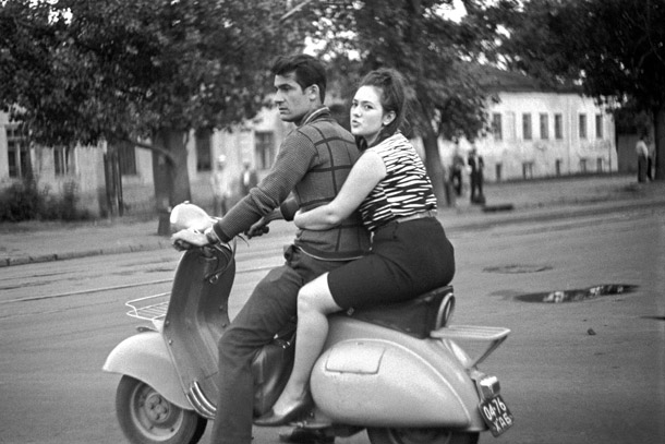 Jānis Kreicbergs. Maskava, 1965