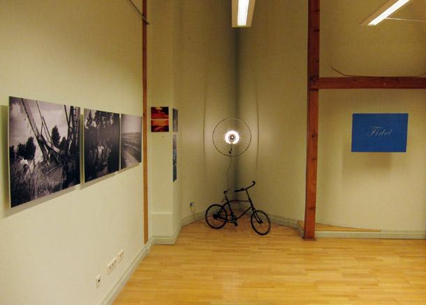 Andreja Kalnača izstāde LMC ofisa galerijā. Foto - Arnis Balčus