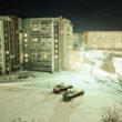 """Rafals Milahs. Tanki nomaļā dzīvojamā rajonā. No sērijas """"7 istabas""""."""