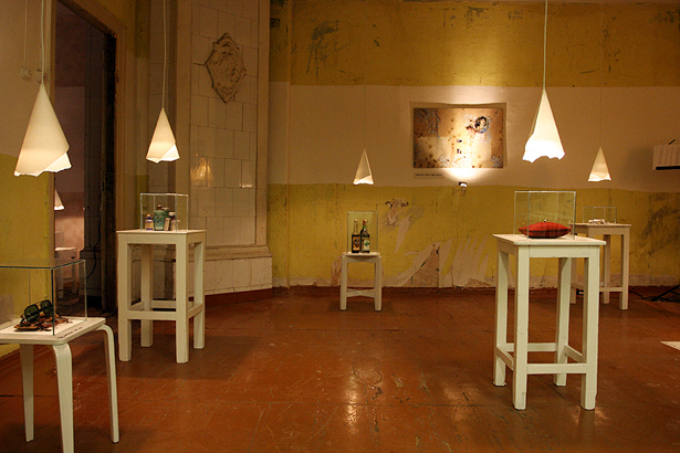"""Krista Burāne. Projekts """"Atmiņu istabas"""" Kaņepes kultūras centrā"""