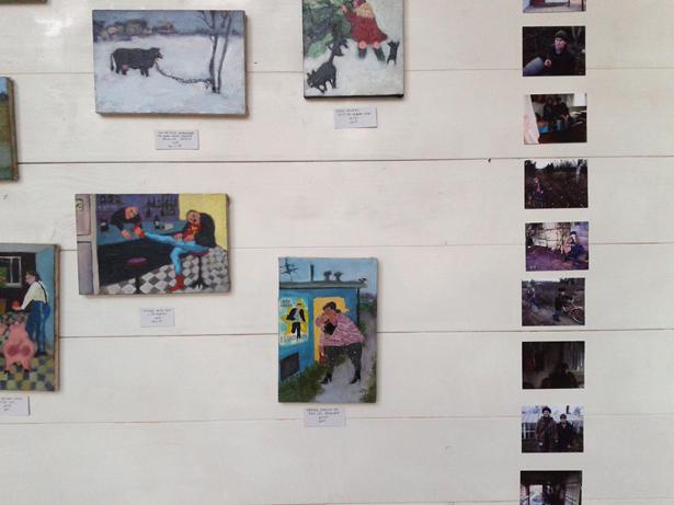 """Margrieta Dreiblate. Projekts """"Pietura Gaisma"""" OSIS Mājā"""