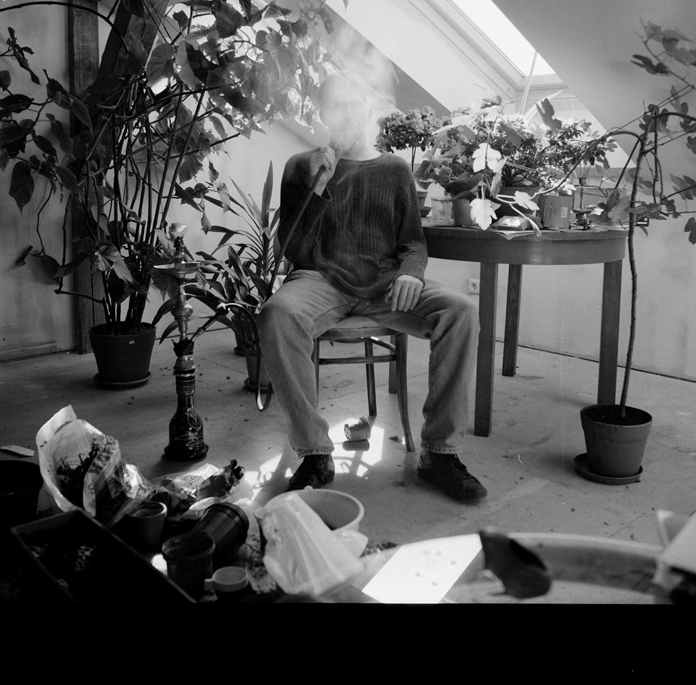 """Māra Brašmane. Aigars, fotogrāfs, datormākslinieks. 2007. No kolekcijas """"Augi mums līdzās"""""""