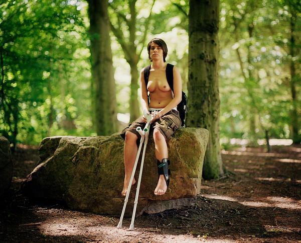 Sieviete no aktīvistu grupas Bara Bröst. Foto - Elīna Berge