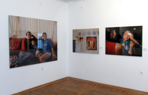 A view from the show at the Latvian Museum of Photography