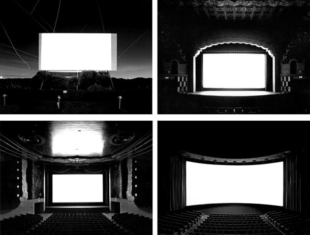 """Hiroši Sugimoto. Četri darbi no sērijas """"Teātri"""""""