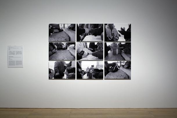 Rula Halavani darbi izstādē Mori muzejā. Foto Kioku Keizo