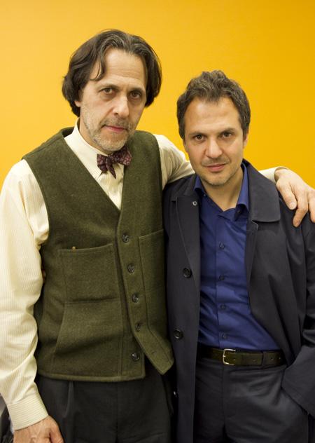 Filips Bloks kopā ar fotogrāfu Platonu