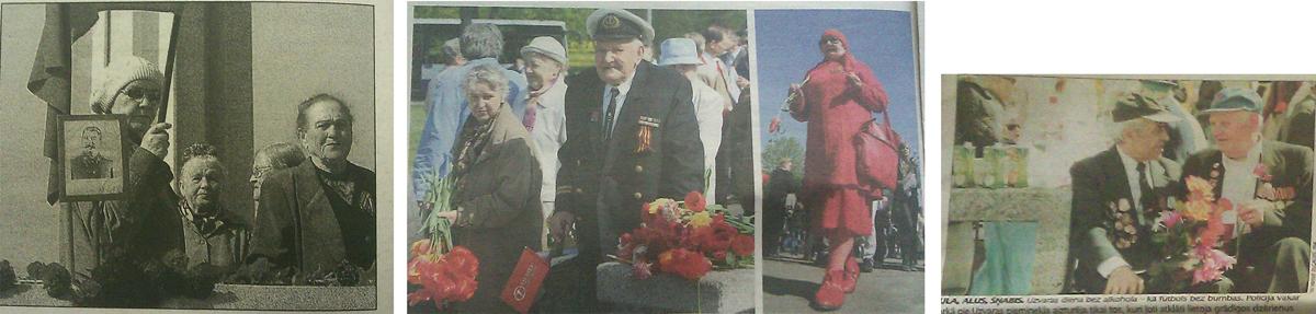 Maijs 2008. gads (no kreisās – Latvijas Avīze, Diena, NRA)
