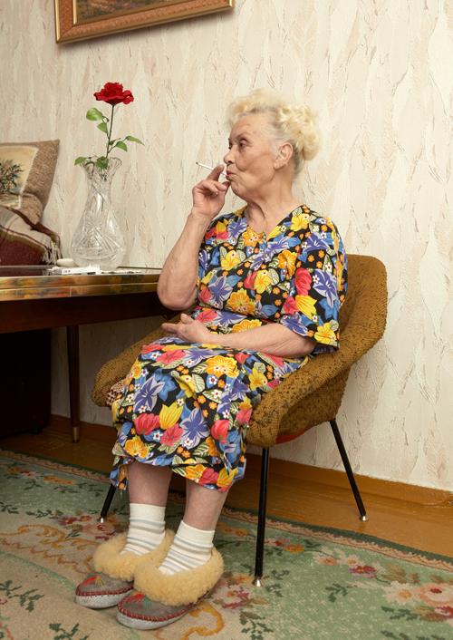 Vitali Brusinski. Nadezda Nestrerovna, militarist's widow