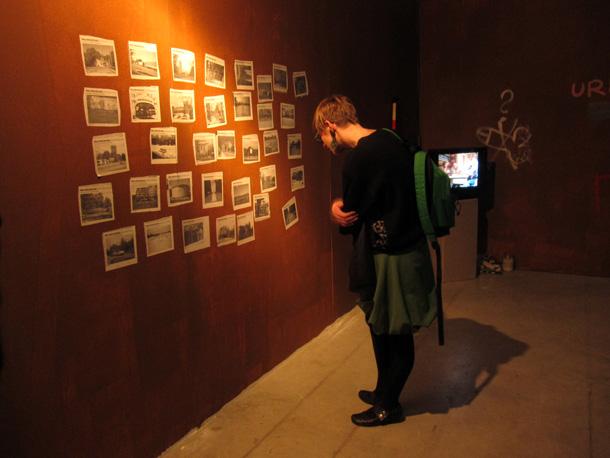 Skats no Ivara Grāvleja izstādes Rīgas Mākslas telpā. Foto - Arnis Balčus