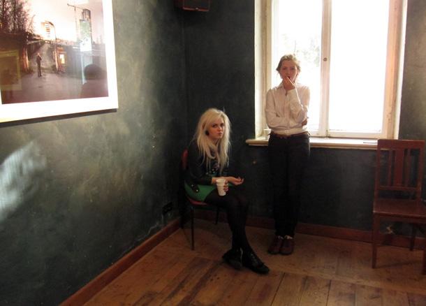 Reiņa Hofmaņa izstādē KKC. Foto - Arnis Balčus