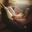 Olīvija Artūra. Sieviete atpūšas mājās. Džida, 2009