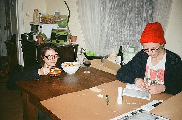 Inga Erdmane un Ilze Vanaga. Foto - no personīgā arhīva