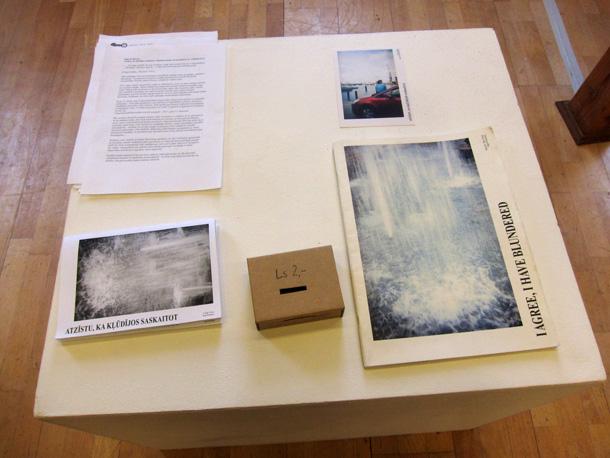 Skats no izstādes LMC Ofisa galerijā