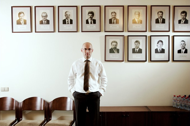 Ekonomikas ministrs Daniels Pavļuts. Foto - Lauris Vīksne