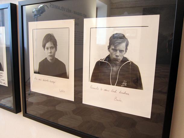 Skats no Valta Kleina izstādes Fotomuzejā