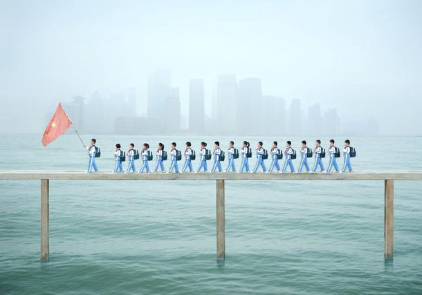 Ju Šao (Yu Xiao). Skaitāmpanti Nr. 1: Uz skolu, 2012