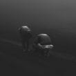 """Kristofers Aksens. Caurums no sērijas """"Pelēkā istaba"""", 2011"""