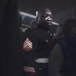 """Kristofers Aksens. Sestais vilciens no sērijas """"Pie jūras naktī"""", 2009"""