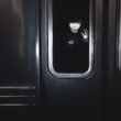 """Kristofers Aksens. Vilciens, kas brauc uz ziemeļiem no sērijas """"Pie jūras naktī"""", 2009"""