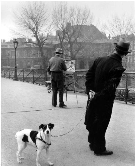 Roberts Duano. Le Fox-Terrier du Pont des Arts, 1953