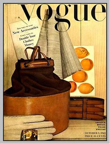 Ērvinga Penna pirmā žurnāla Vogue vāka publikācija