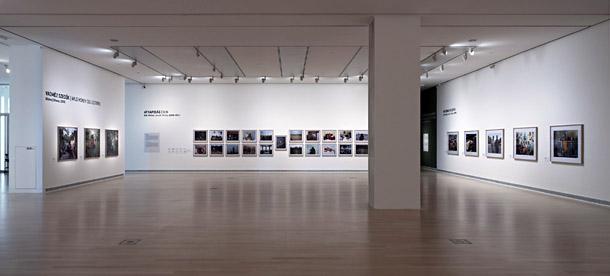 Skats no Pītera Hugo izstādes Budapeštā. Publicitātes attēls
